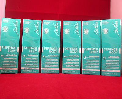 X6 DEFENCE BODY 75 ml bionike anticellulite  nickel iodio 450 ml