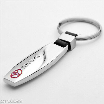 New Fashion Metal Alloy key chain Key Ring pendant Key Holder For TOYOTA