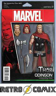 Marvel Now! Unworthy Thor #1 Action Figure Variant New/unread Bagged & Boarded