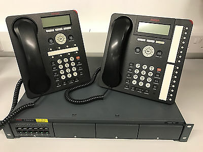 Avaya IP500 V2 System with 5 Handsets **Warranty & Delivery included**