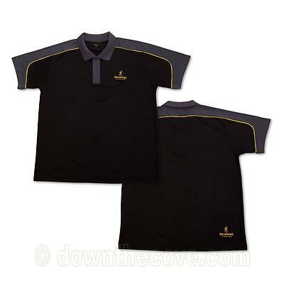 Browning DryFit Polo Shirt - Quick Drying Fishing Top - 3 Sizes, 1st Class Post!