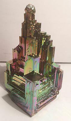 Spectacular 106.1 Gram 999.0 Pure BISMUTH CRYSTAL CASTLE (Great Investment)