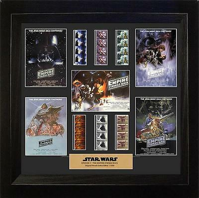 Star Wars Episode V Empire Strikes Back Film Cell Montage USFC2316 Filmcells