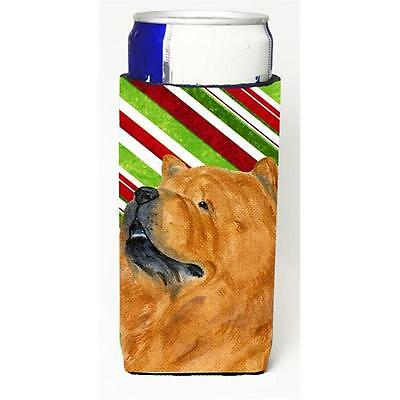 Chow Chow Candy Cane Holiday Christmas Michelob Ultra s For Slim Cans 12 oz.
