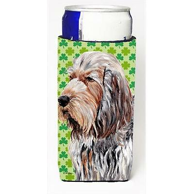 Otterhound Lucky Shamrock St. Patricks Day Michelob Ultra bottle sleeves Slim...