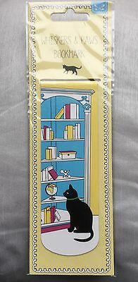 Whiskers & Paws Cat Magnetic Bookmark (Sold For Cats Protection)