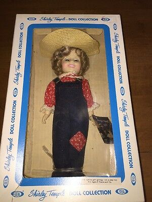 """Vintage 1980s Shirley Temple Doll By Ideal """" Rebecca Of Sunnybrook Farms"""""""