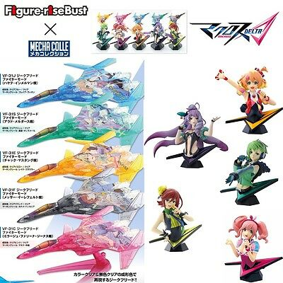 MACROSS DELTA Δ MECHACOLL Limited CLEAR Ver. & Figure rise Bust Model kit set