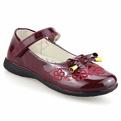 Girls Kids Childrens New Formal Smart Casual Mary Jane Back To School Shoes Size