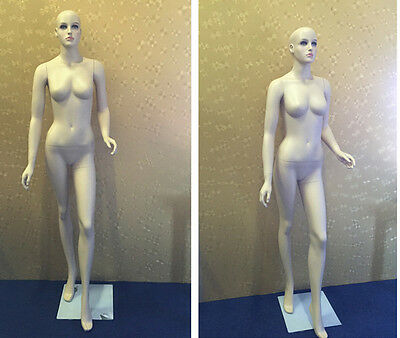 Female Mannequin Skin color high quality Tailor Dummy Dress Shop Window Display