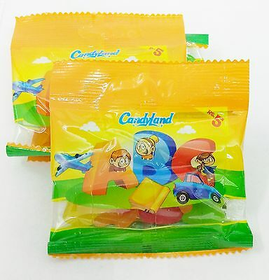 Candyland Chili Mili Bears Abc Snow Cone Yums Fruity Sour Crazy Pop Sweets Candy