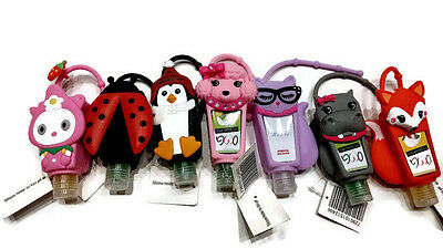 Bath & Body Works Pocketbac Hanger Holder + Hand Gel Sanitizer 10 Cute Models