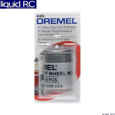 Dremel 420 Heavy Duty Cut-Off Wheels (20)