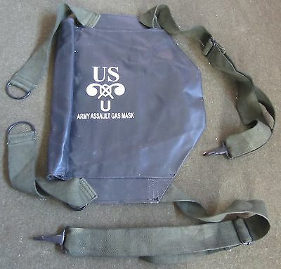 Wwii Us M6 Rubberized Gas Mask Carry Bag