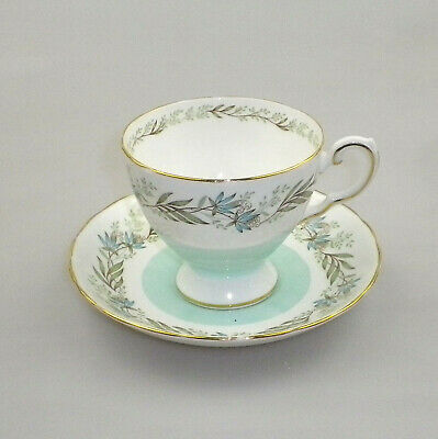 Vintage Tuscan Bone China Cup and Saucer Fresco