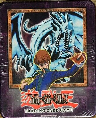 YU-GI-OH 2002 Blue Eyes Whiite Dragon Tin New Factory Sealed GEM Mint Condition