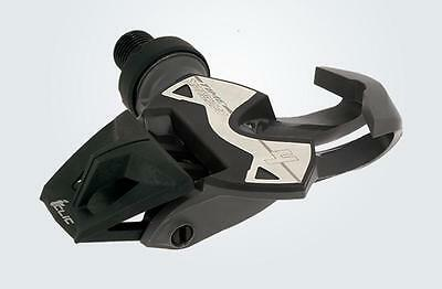 TIME XPRESSO 4 CLIPLESS CLIP LESS ROAD CYCLING PEDALS inc CLEATS DARK GREY PAIR