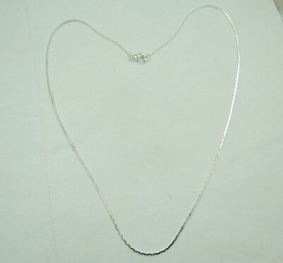 42cm Quality Silver Plated Fine Chains Necklaces Jewellery Making