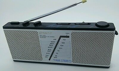 Hard to Find Vintage 80's Sony SRF-A200 FM AM Stereo Radio Receiver Excellent!