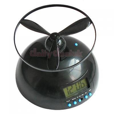Crazy Annoying Flying Helicopter Alarm Clock