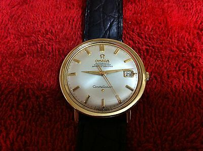 1 Men's Watch Omega Constellation Gold And Stainless Steel, Automatic, Works