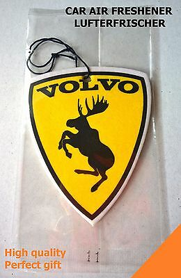 Car air freshener Volvo moose emblem from sticker - New Car scent, UNIQUE GIFT Y