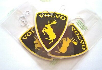 Volvo moose from decal Car scent freshener - sea breeze; great gift idea