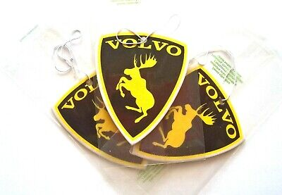 2x Volvo moose car air freshener set V70 XC90 V40 V50 S60 C70 S80 XC60 XC70