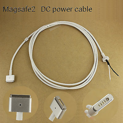 Apple MacBook Air Pro Magsafe2 45W 60W 85W AC Power Adapter DC Cable Cord #C27