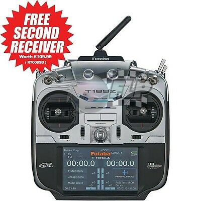 Futaba T18SZ Mode 1 Super Combo With Free Second Receiver