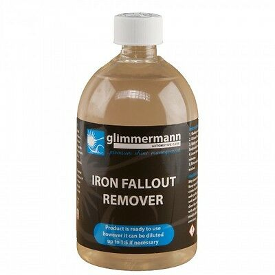 Glimmermann car Iron Fallout Remover Alloy Wheel Decontamination Cleaner 500ml