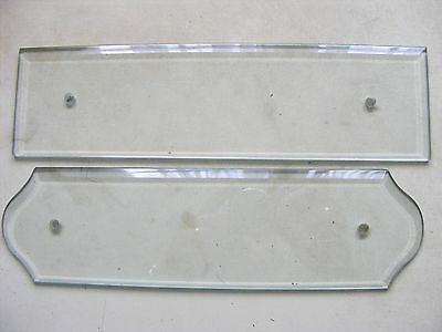 Glass Door Finger Plates X 2