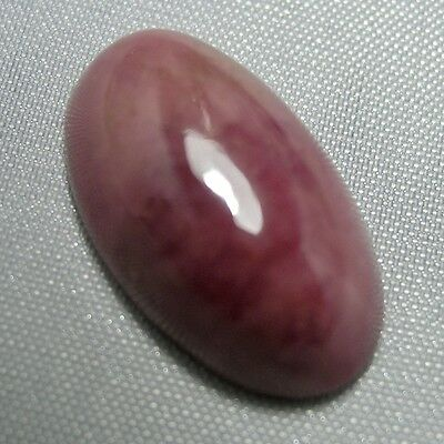 Echter Rhodonit Oval Cabochon 24ct 23x13.7mm