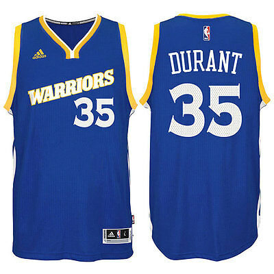 NEW Golden State Warriors #35 Kevin Durant Basketball Jersey Blue Size: S - XXL