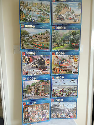 King 1000 Piece Jigsaw Puzzle - Choice of 59 Designs - 11 NEW Designs!!