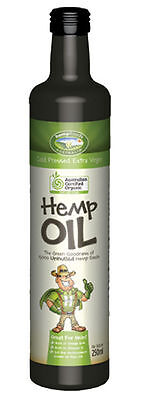 Organic Hemp Seed Oil 250ml - Hemp Foods Australia