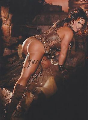 Chyna (Deceased) WWE Playboy Photo Shoot RARE NUDE NO PANTIES SIGNED RP 8x10!!!