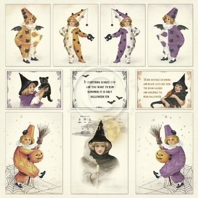 Pion Design - The Witching Hour - 12 x 12 Images From The Past - PD1622