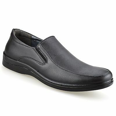 Mens Smart Casual Formal Slip On Loafers Work Office Driving Walking Shoes Size