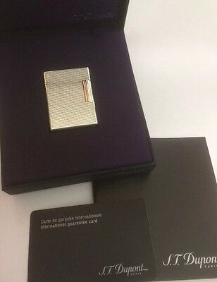 St. Dupont Silver Plated Ligne 1 (Small)- Unused Condition & Serviced