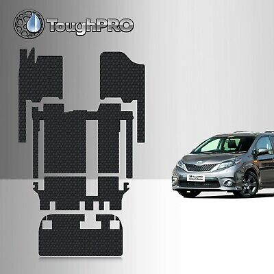 ToughPRO Heavy Duty All-Weather Floor Mats Set For 2011-2019 Toyota Sienna