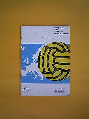 European Cup Final - Barcelona v Benfica  - 31st May 1961