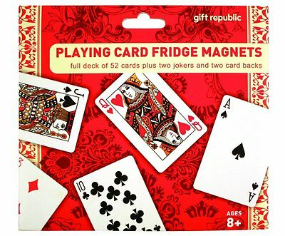 Playing Card Fridge Magnets