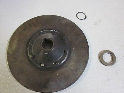 "Polaris 1332091 Brake Disc Rotor fits many 85-91 Indys  8"" OD w/ 1/4"" keyway"