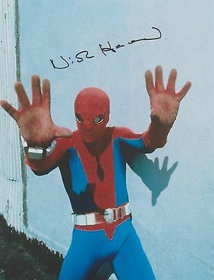 The Amazing Spider-Man (Candid) Nicholas Hammond EXTREMELY RARE SIGNED RP 8x10!!