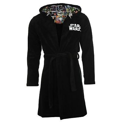 Character Mens Dressing Gown Robe Star Wars New With Tag