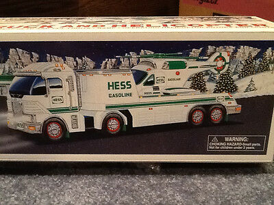 Hess 2006 Toy Truck & Helicopter*New in Box*Never Opened*Includes Hess Batteries