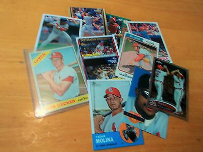 FREE 1960's Topps  St Louis card w/25ct.1970-00's Cardinals lot, nice $$ value!!