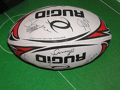 New Zealand Kiwis Rugby League 2016 Squad Signed Ball - Eleven Autographs!
