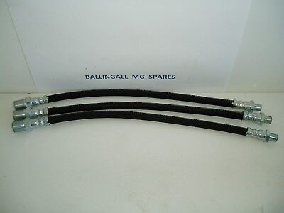 Mg Tc  Front Or Rear Brake Hose X 3  Part Number  Moss 180-850/180-860